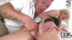 Angie Koks Gets Her Sweet Ass Licked And Fingered