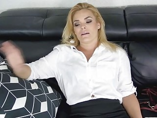 Tired Stepmom Wants To Get Charged With Some Cock