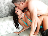 Strong Dude Fucks Deep Throat And Anal Hole Of Slutty Chick Monica Sage