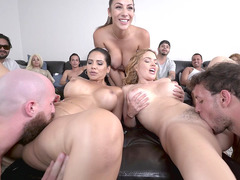 Krissy Lynn,Rose Monroe And Valentina Jewels In Group Action