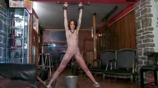 Punk Ass Babe Gets Tortured And Humiliated In Public