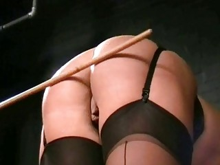 English Caning And Spanking Of Bruised Blonde