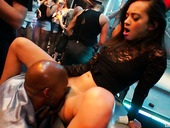Perverted Sassy Bitch Mia Blond Gets Her Slit Polished In Public