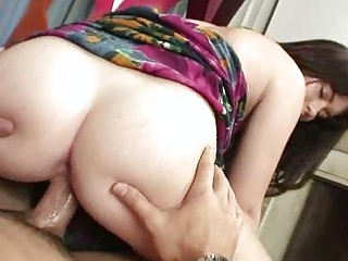 Lovely Brunette Gets A Good Fucking From Her Inter