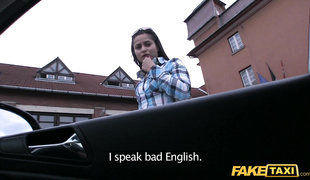 Young Amateur Euro Babe Seduced For Cash And Fucks Fake Taxi Driver