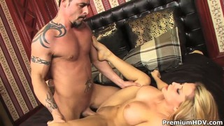 Madison Ivy Is Being Licked Out By A Big Guy