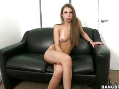 Brunette Doll Jennifer Blaze Gets A Mouthful Of Meat Pole In Blowjob Action With Horny Bang Buddy