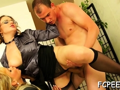 Non-professional Babes Fuck Dressed And Scream Like Whores