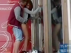 Amateur Humped From Behind In Public Voyeur Video