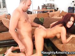 Mature Senora Tara Holiday With Big Tits And Clean Beaver Dreaming About Real Sex With Real Man With Sex Toy In Her Beaver
