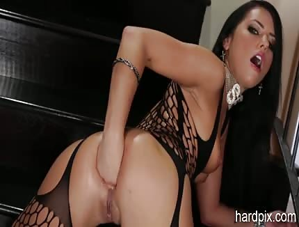 adriana chechik solo anal fisting