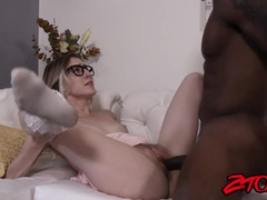 Cute Cadence Lux Thrashed And Facialized By BBC