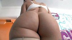 Bootylicious Chanel Preston Pulls Off Her Panties