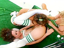 Three Girls And Anal Acrobat Sex Games