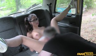 Anal Fuck With Spanish Whore Julia De Luca On Fake Taxi Backseat