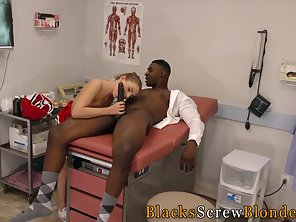 Pigtail Cheerleader Suck And Rides Meaty Dick Coach Indoors