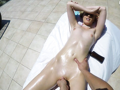 POV Sex On A Shiny Day With Electable Blonde Alexa Grace