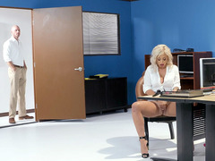 Madelyn Monroe Is Playing With Vibrator At Her Work Place