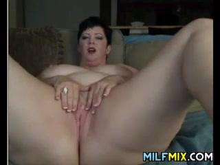Big MILF With Her Toy