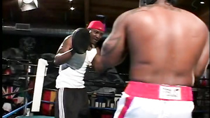 Black Boxers Gangbang White Teen On The Ring After Competitions