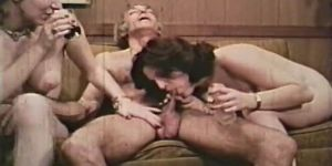 Classic: Old Boy Gets A Threesome Fuck