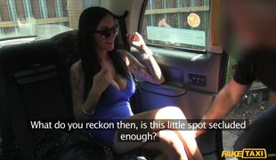 FakeTaxi – Anal Sex With Perfect Brunette Chantelle Fox