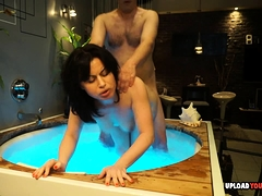 Wife In A Hot Tub Gets Penetrated