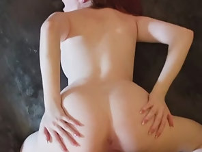 Redhead Babe Krystal Orchid With Braces Gets Her Twat Rammed