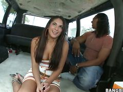 """Brunette Chicana Carmen With Phat Ass Does It With A Guy She Wants To Fuck"""" Target=""""_blank"""