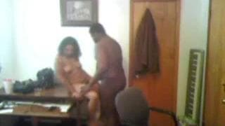 Interracial Couple Have Great Fuck At Home