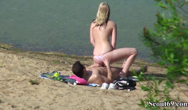 Spy Young German Teen Couple Fuck At Beach In Berlin