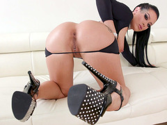 Katrina Jade Is Playing With The Butt Plug