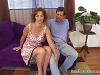 Betty Is A Aged Brunette Hair Playgirl And That Babe Says This Babe Is Hanging With Her Juvenile Rock Hard Guy.