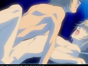 Muscle Anime Gay On Bed Unclothed Butt Hammered