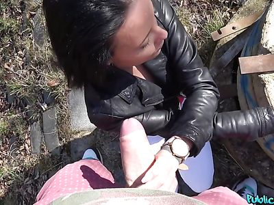 Outdoor Sex For Money With Dirty Abigail Ash
