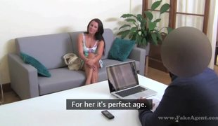 Awesome Euro Slut Monica Tries Her Luck On Fake Casting