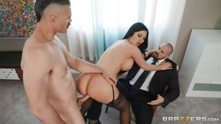 Husband Hires A Muscular Hunk To Satisfy His Wife